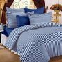 Storyathome Designer 2  Single  Bedsheet With 2 Pillow Covers-Blue-TR1202