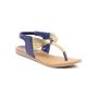 Ten Synthetic Leather 301 Women's Sandals - Blue
