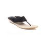 Ten Jute Fabric 296 Women's Sandals - Black