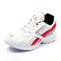 Foot n Style Synthetic  leather Sports Shoes  FS419 - White & Red