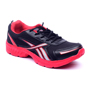 Foot n Style Synthetic  leather Sports Shoes  FS433 - Black & Red
