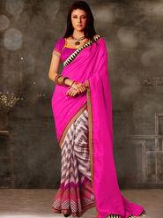Viva N Diva Printed Bhagalpuri Saree -sa03