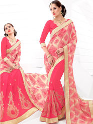 Viva N Diva Embroidered Brasso Saree -sy15