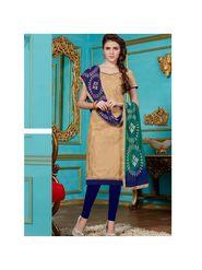 Viva N Diva Emroidered Unstiched Cotton Dress Material_11132-Elifa