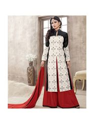 Viva N Diva Emroidered Unstiched  Dress Material_11292-Shruti
