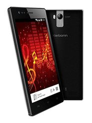 KARBONN A6 TURBO, 3G - Black 4.5 Inch Android Kitkat, 4 GB Internal Memory, 5 MP Camera With Dual Flash, Dual Sim Mobile