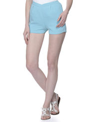 Lavennder Ladies Georgette Short With Lining - Sky Blue_LW-5146