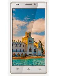 Intex Aqua Power HD 5 Inch Android KitKat 3G Smartphone - White & Gold