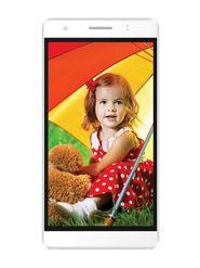 Intex Aqua Dream II 5.5 Inch IPS Display Android KitKat Smartphone (White)
