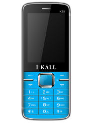 I Kall K35 Dual SIM Mobile Phone - Blue