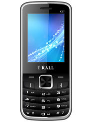 I Kall K37 Dual SIM Mobile Phone - Black
