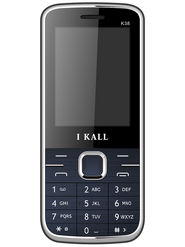 I Kall K38 Dual SIM Mobile Phone - Blue