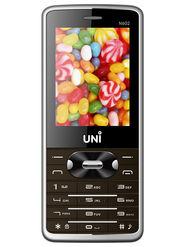 UNI N602 Dual SIM Mobile Phone - Brown