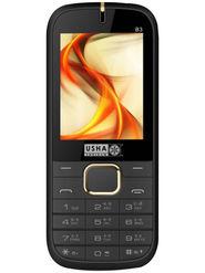 Usha Shriram B3 Feature Phone (Dual Sim, Black & Gold)