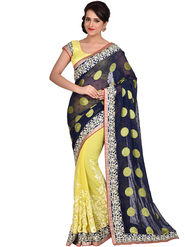 Shonaya Desginer Embroidered Georgette Saree - SGGRA-7451