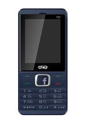 Trio T5 Star 2.4 inch Dual SIM Phone with Facebook & Multi Language Support (English,Hindi,Gujrati,Bengoli) - Blue