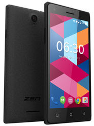 ZEN Cinemax 2+ 5.5 inch Lollipop (RAM : 1GB : ROM : 8GB) 3G Smart Phone (Grey)