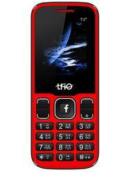 Trio T3 Star Dual Sim Feature Phone (Red Black)