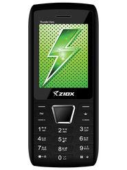 Ziox Thunder Hero Dual SIM Feature Phone (Black Red)
