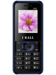 I KALL K25 with Leather Back (Black & Blue)