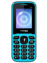 TYMES Y1 Dual SIM Feature Phone (Blue Black)