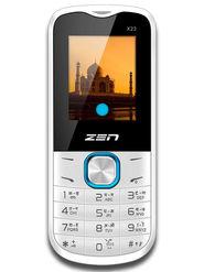 ZEN X23 Dual SIM Feature Phone (White-Blue)