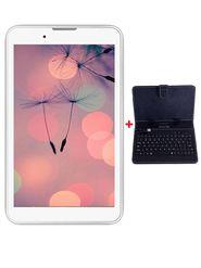 Combo of I Kall IK1 3G Calling Tablet (RAM : 1GB : ROM : 4GB) + keyboard