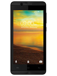 Lava A51 4.5 inch (RAM : 512 MB : ROM : 8GB) 3G Smartphone (Black)