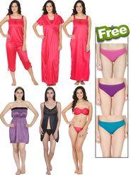 Pack of 12  Klamotten Nightwear with Free Panties