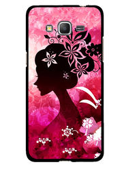 Snooky Designer Print Hard Back Case Cover For Samsung Galaxy Core Prime G360H - Pink