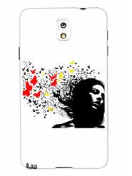 Snooky Designer Print Hard Back Case Cover For Samsung Galaxy Note 3 - Multicolour
