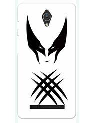 Snooky Designer Print Hard Back Case Cover For Asus Zenfone C ZC451CG - White