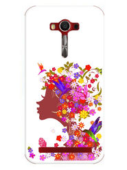 Snooky Designer Print Hard Back Case Cover For Asus Zenfone 2 Laser 5.0 (ZE500KL) - Multicolour