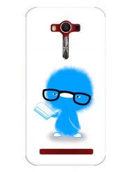 Snooky Designer Print Hard Back Case Cover For Asus Zenfone 2 Laser 5.0 (ZE500KL) - Blue