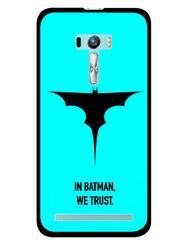 Snooky Designer Print Hard Back Case Cover For Asus Zenfone Selfie ZD551KL - Sky Blue