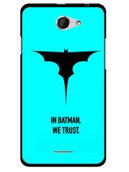 Snooky Designer Print Hard Back Case Cover For HTC Desire 516 - Sky Blue