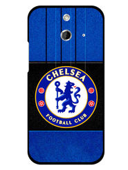 Snooky Designer Print Hard Back Case Cover For HTC One E8 - Blue