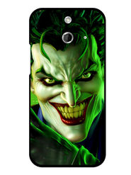 Snooky Designer Print Hard Back Case Cover For HTC One E8 - Green
