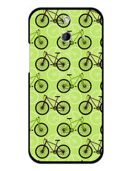 Snooky Designer Print Hard Back Case Cover For HTC One E8 - Cream