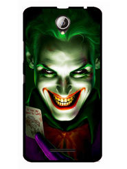 Snooky Designer Print Hard Back Case Cover For Lenovo A5000 - Green