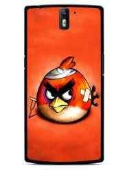 Snooky Designer Print Hard Back Case Cover For OnePlus One - Orange