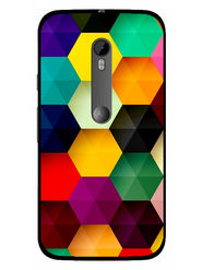 Snooky Designer Print Hard Back Case Cover For Motorola Moto G (Gen 3) - Multicolour