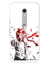 Snooky Designer Print Hard Back Case Cover For Motorola Moto X Play - White