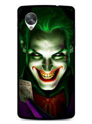 Snooky Designer Print Hard Back Case Cover For LG Google Nexus 5 - Green