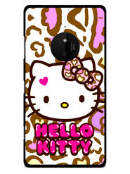 Snooky Designer Print Hard Back Case Cover For Nokia Lumia 830 - White