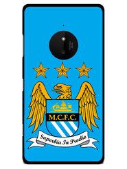 Snooky Designer Print Hard Back Case Cover For Nokia Lumia 830 - Blue