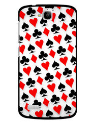 Snooky Designer Print Hard Back Case Cover For Huawei Honor Holly - White