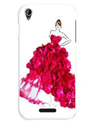 Snooky Designer Print Hard Back Case Cover For Lava Iris X1 mini - Pink