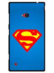 Snooky Designer Print Hard Back Case Cover For Nokia Lumia 720 - Blue