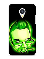 Snooky Digital Print Hard Back Case Cover For Meizu MX4 - Green